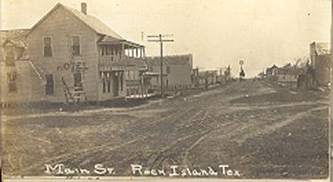 Colorado County Texas Communities Rock Island